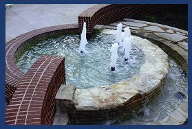 Residential & Commercial Fountains - Aqua Terra Company Dallas Fort Worth Texas - Water Features - Residential & Commercial Floating fountains Dallas Fort Worth Texas Residential water fountain dallas, residential water fountain fort worth